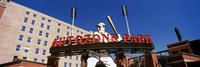 Low angle view of a baseball stadium, Autozone Park, Memphis, Tennessee, USA Fine-Art Print