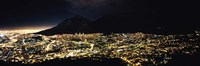 Cape Town at Night,  South Africa Fine-Art Print