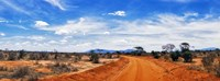 Dirt Road in Tsavo East National Park, Kenya Fine-Art Print