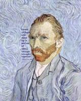 Great Things -Van Gogh Quote 3 Fine-Art Print
