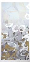 Golden Dropplets I - Metallic Foil Fine-Art Print