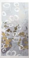 Golden Dropplets II - Metallic Foil Fine-Art Print