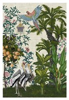 Paradis Chinoiserie II Fine-Art Print