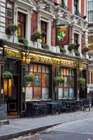 The Sherlock Holmes Pub, Trafalgar, London, England Fine-Art Print