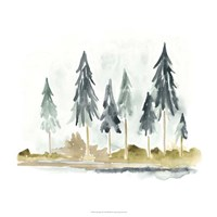 Lake Shore II Fine-Art Print