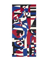 Composition Concrete (Study for Mural), 1957-1960 Fine-Art Print