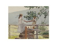 On the Stile, 1878 Fine-Art Print