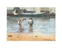 Boys Wading, 1873 Fine-Art Print