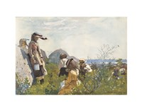 Berry Pickers, 1873 Fine-Art Print