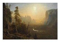 Yosemite Valley, Glacier Point Trail, ca. 1873 Fine-Art Print