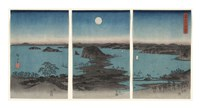Kanazawa in Moonlight, 7th month, 1857 Fine-Art Print