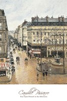 Rue Saint-Honore in the Afternoon. Effect of Rain, 1897 Fine-Art Print