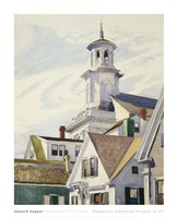 Methodist Church Tower, 1930 Fine-Art Print