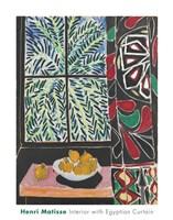 Interior with Egyptian Curtain, 1948 Fine-Art Print