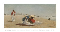 East Hampton Beach, Long Island, 1874 Fine-Art Print