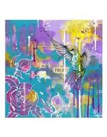 A Hummingbird's Folly Fine-Art Print