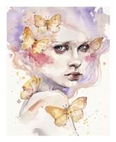 All a Flutter Fine-Art Print