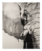 Watercolor Elephant Fine-Art Print