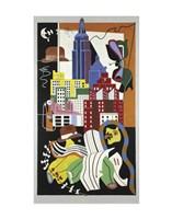 New York Mural, 1932 Fine-Art Print