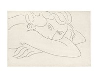 Young Woman with Face Buried in Arms, 1929 Fine-Art Print