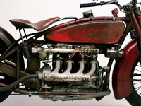 Detail of 4 Cylinder Indian Ace, 1929 Fine-Art Print