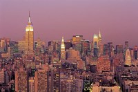 Sunset over Manhattan Fine-Art Print