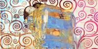 Klimt's Embrace 2.0 Fine-Art Print