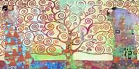 Klimt's Tree of Life 2.0 Fine-Art Print
