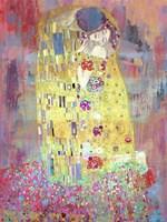 Klimt's Kiss 2.0 Fine-Art Print