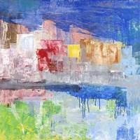Villaggio sul Lago Fine-Art Print