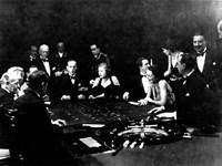 La Roulette a l'interieur d'un Casino a Monte Carlo, 1934 Fine-Art Print