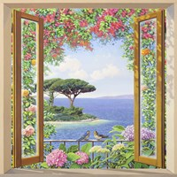 Sulla costa Mediterranea Fine-Art Print