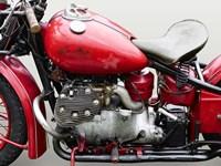 Vintage American Motorbike (detail) Fine-Art Print