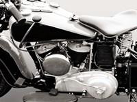 Vintage American V-Twin Engine (detail) Fine-Art Print