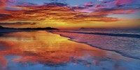 Sunset, North Island, New Zealand Fine-Art Print