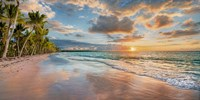 Beach in Maui, Hawaii, at sunset Fine-Art Print