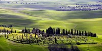 Country houses in Tuscany Fine-Art Print