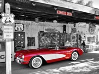 Red Corvette Fine-Art Print