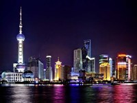 Shanghai at Night Fine-Art Print