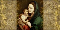 Holy Virgin (Italian school) Framed Print