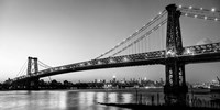 Queensboro Bridge and Manhattan from Brooklyn, NYC Fine-Art Print