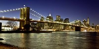 Panoramic View of Lower Manhattan at dusk, NYC Fine-Art Print