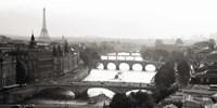 Bridges over the Seine River, Paris Fine-Art Print