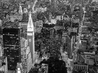 Aerial View of Manhattan, NYC Fine-Art Print