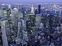 Manhattan Skyline at dusk, NYC Fine-Art Print