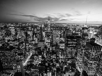 Manhattan Skyline with the Empire State Building, NYC Fine-Art Print