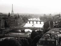 Bridges over the Seine River, Paris 2 Fine-Art Print
