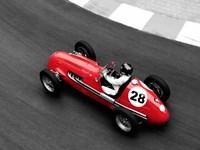 Historical Race Car at Grand Prix de Monaco 4 Fine-Art Print