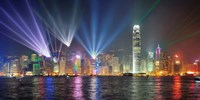 Symphony of Lights, Hong Kong Fine-Art Print