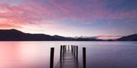 Twilight on Lake, UK Fine-Art Print